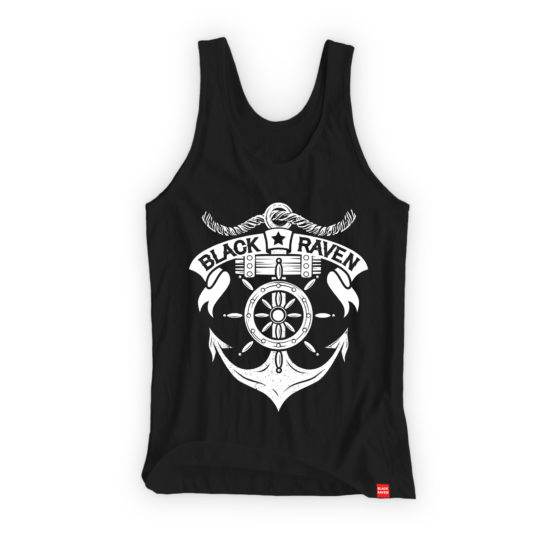 BLACK RAVEN clothing BR-WTT-03 womens tank top SAILOR SPIRIT