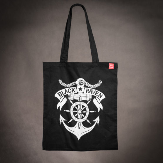 BLACK RAVEN clothing BR-BAG-03 cotton bag sailor spirit