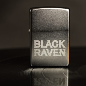 BLACK RAVEN clothing BR-ZIP-01 zippo chrome