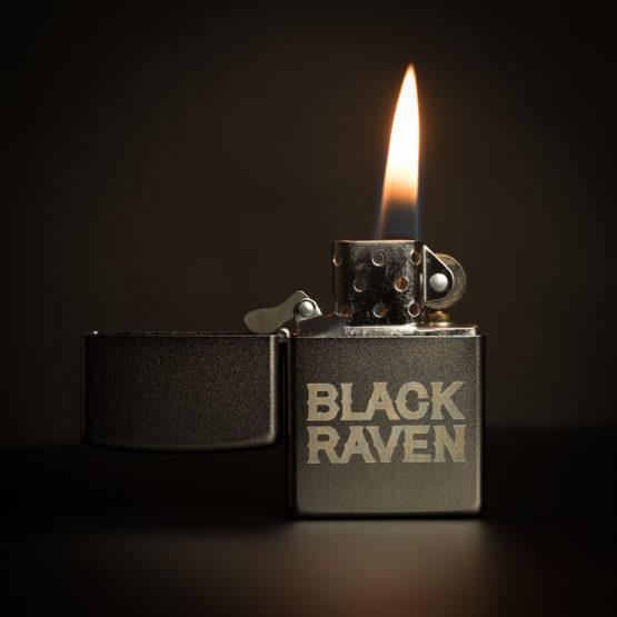 BLACK RAVEN clothing BR-ZIP-01 zippo chrome