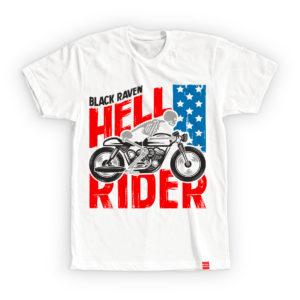 BLACK RAVEN clothing BR-MTS-05 mens t-shirt HELL RIDER