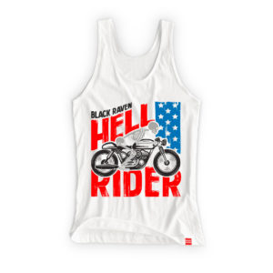 BLACK RAVEN clothing BR-WTT-05 womens tank top HELL RIDER