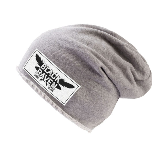BLACK RAVEN clothing BR-HAT-02 winter beanie grey