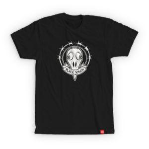 BLACK RAVEN clothing BR-MTS-01 mens t-shirt RAVEN SKULL