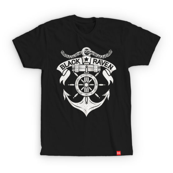 BLACK RAVEN clothing BR-MTS-03 mens t-shirt SAILOR SPIRIT