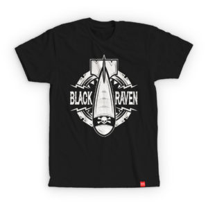 BLACK RAVEN clothing BR-MTS-02 mens t-shirt BOMB DROP