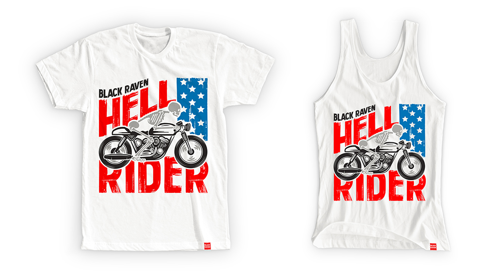 BLACK RAVEN clothing HELL RIDER collection