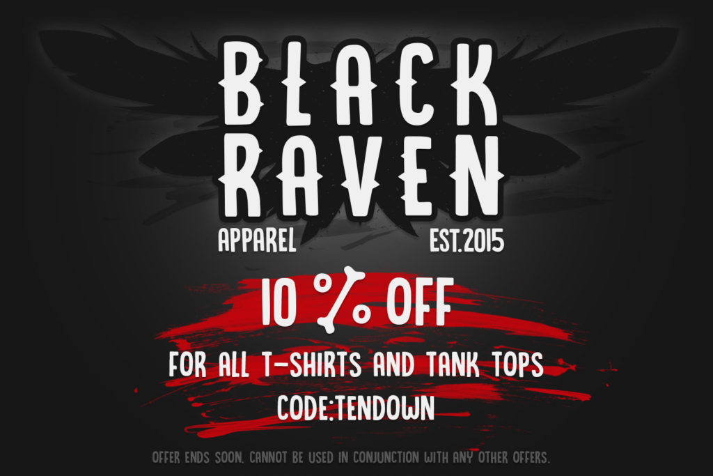 BLACK RAVEN independent lifestyle clothing