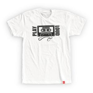 BLACK RAVEN clothing BR-MTS-07 mens t-shirt PLAY LOUD