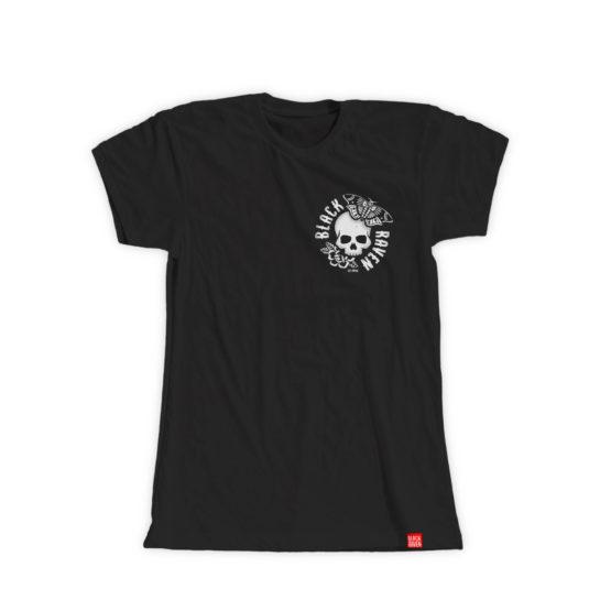 BLACK RAVEN Apparel BR-UTS-08 woman t-shirt DARK MOTH