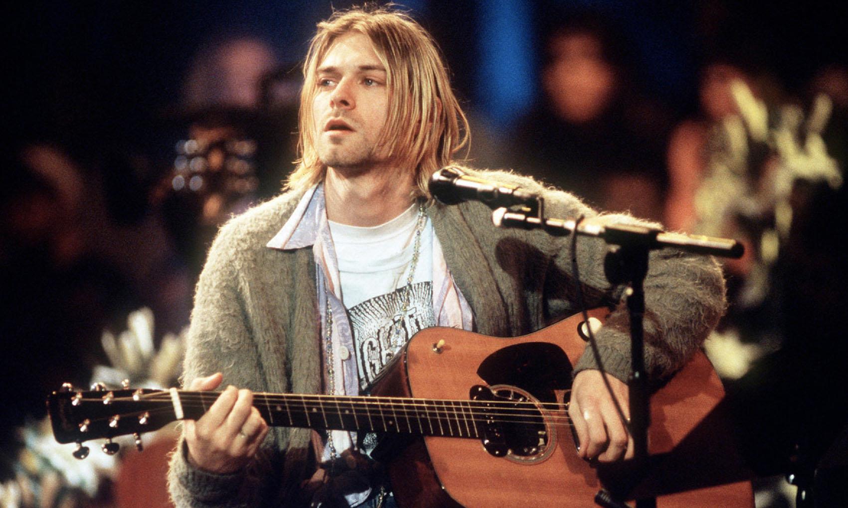 Kurt Cobain, Nirvana, Unplugged in New York